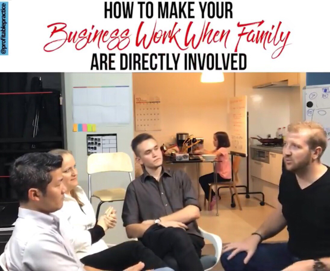 How You Make Your Business Work When Family Are Directly Involved