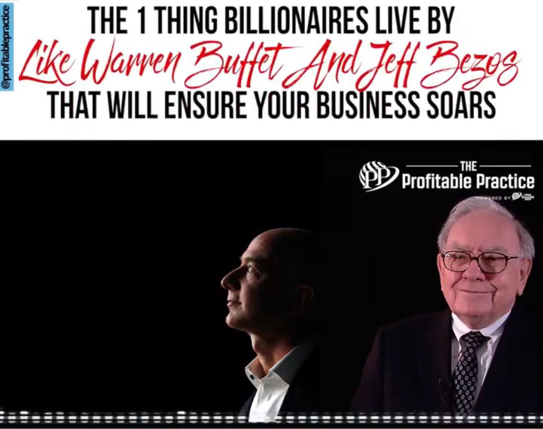 The 1 Thing Billionaires Live By, That Will Ensure Your Business Soars