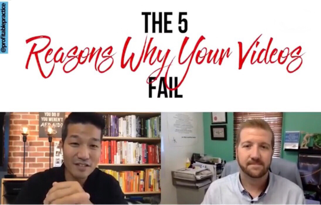 The 5 Reasons Your Videos FAIL