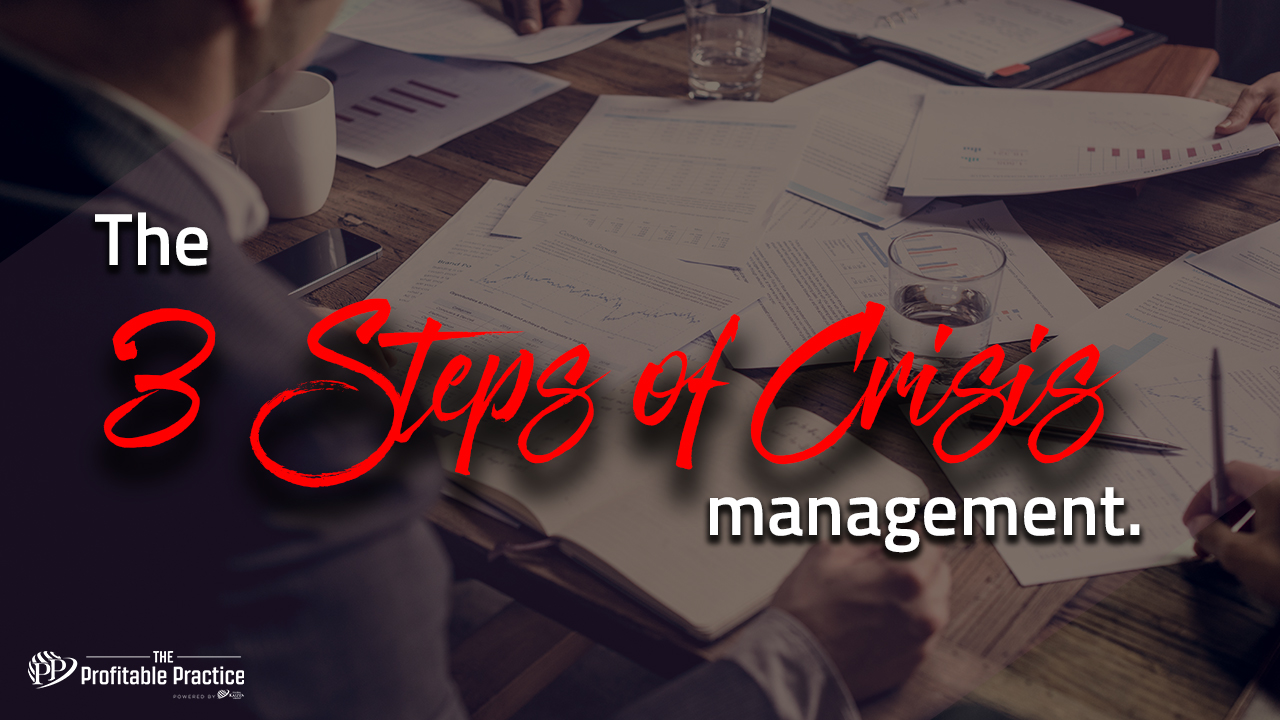 3 steps of crisis management