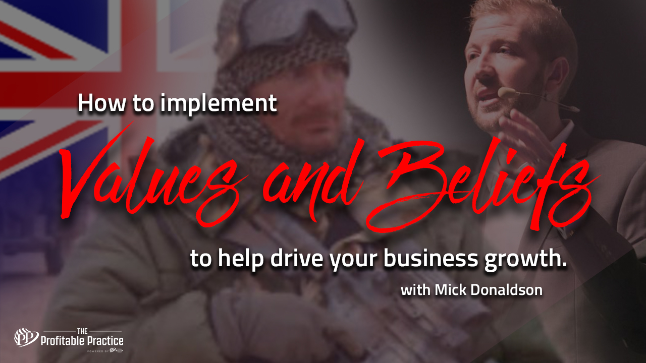How to implement values and beliefs to help drive your business growth