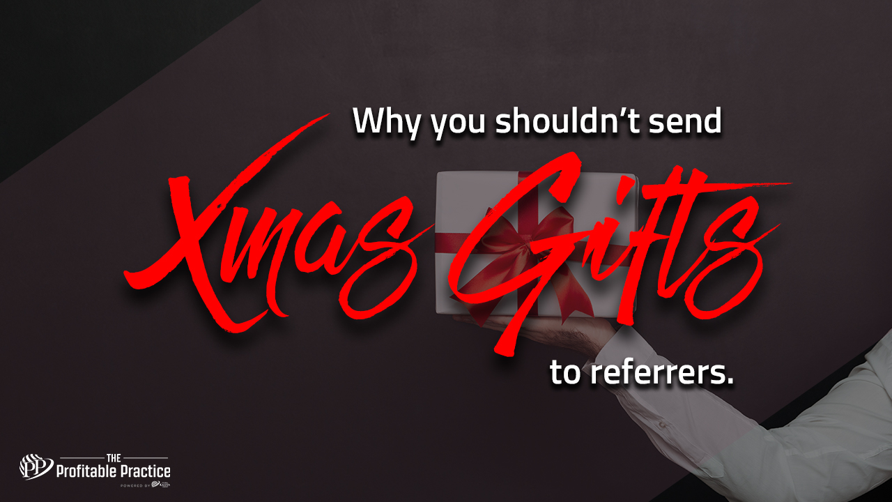 Why you shouldn't send Xmas gifts to referrers