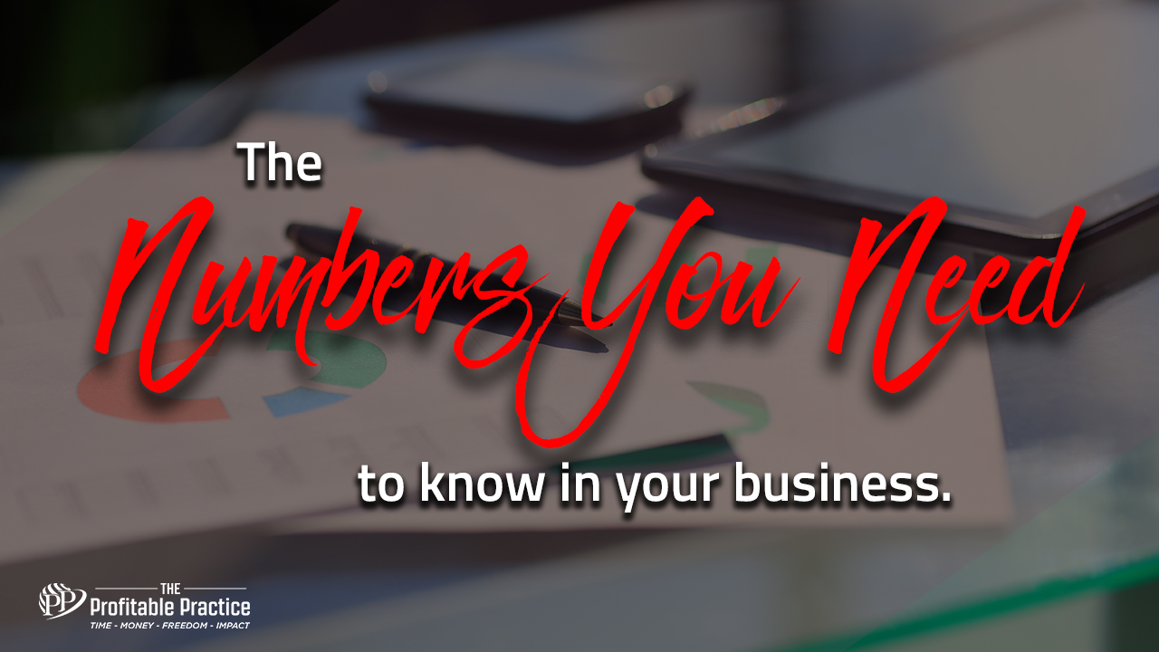 The numbers you need to know in your business
